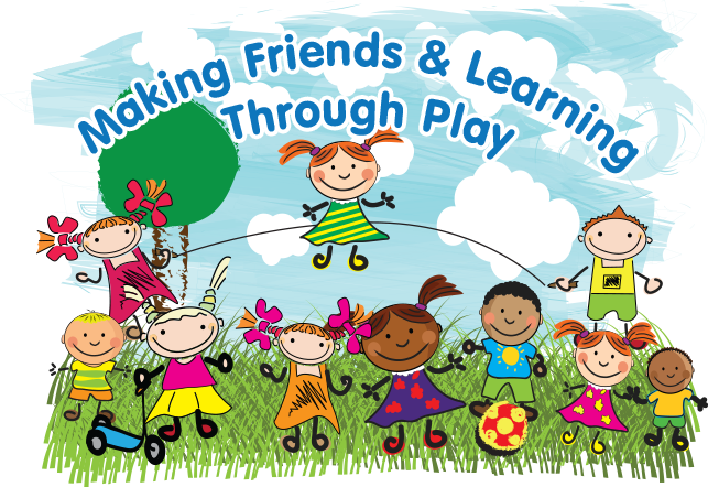 making friends through learning and play